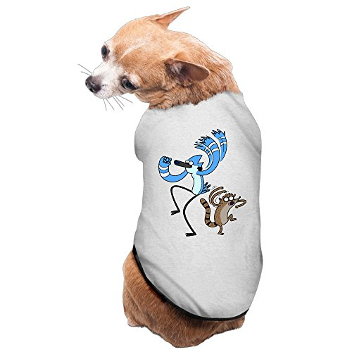 Regular Show Mordecai And Rigby Costumes (Charming Cozy Regular Show-Mordecai And Rigby Dog Sweaters Puppy Costumes)