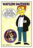 Waylon Smithers trading card (The Simpsons) 1994 Skybox #S8