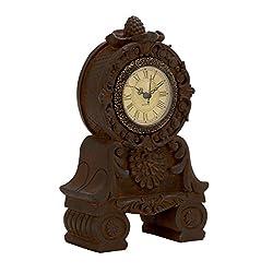 Benzara Unique Styled Superb Ceramic Table Clock