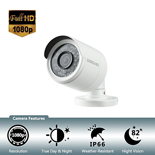 (Samsung Wisenet SDC-9443BC 1080p HD Weatherproof Bullet Camera (Compatible with SDH-B74041 & SDH-B74081))