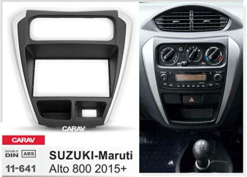 Amazon.com: Double Din In Dash Car Stereo Installation Kit Car Radio Stereo CD Player Dash Install Kit Compatible SUZUKI-Maruti Alto 800 2015+ with ...