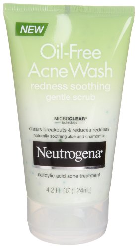 Neutrogena Oil Acne Wash Redness Soothing Facial Cleanser 6