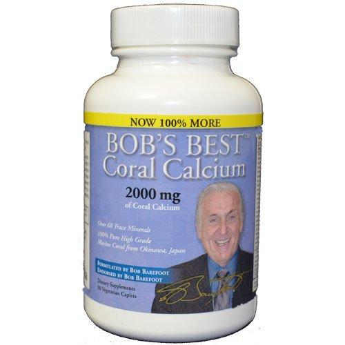 Bob's Best Coral Calcium, 2000 mg, 90 caplets (Bob Barefoot Bob's Best Coral Calcium)