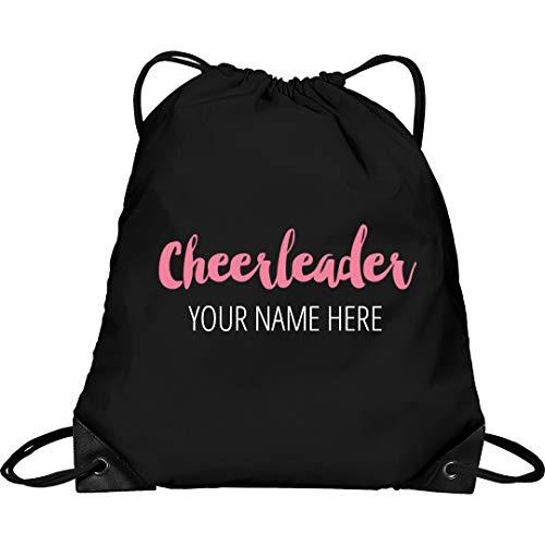 Bag Custom Spirit Cheerleader - Custom Cheerleader Clinch Bag: Drawstring Cinch Bag