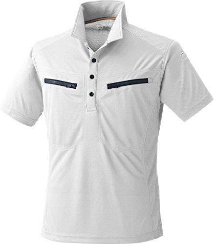 MK:290 肩を守る半袖ポロシャツ<br>【脇消臭 吸汗速乾 すぐ乾く 肩パット 反射機能】