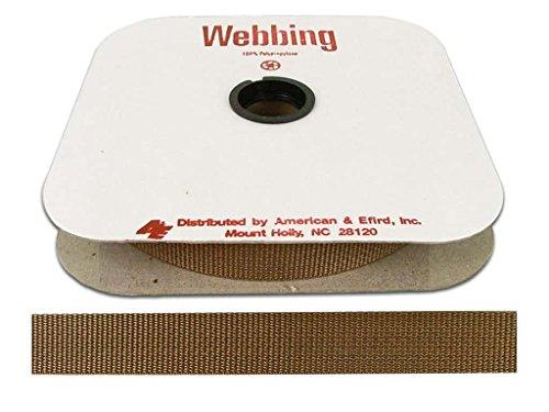 Polypropylene Webbing 1 in. Nude Beige (25 yards)