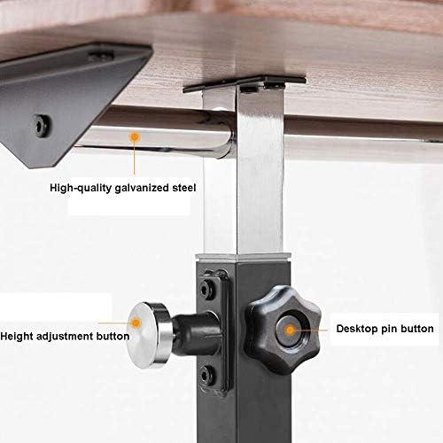Table de Chevet Table d'ordinateur Portable Table d'appoint Table de Chevet Table Mobile Table Simple de Levage Paresseux avec Table à roulettes, Maison/Bureau