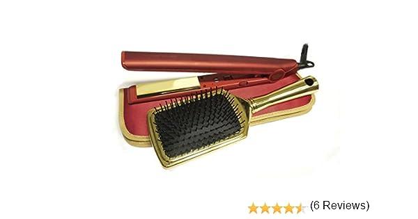 Corioliss C1 Kit Red Royale - Plancha de pelo profesional + cepillo + funda, color rojo (edición limitada): Amazon.es: Alimentación y bebidas