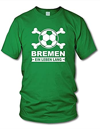 Darmstadt Fan T-Shirt Fussball Lorbeerkranz Gr/ö/ße S shirtloge 3XL