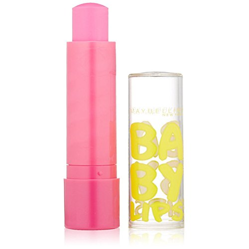 Maybelline Baby Lips Moisturizing Lip Balm, Pink Punch, 0.15 oz.