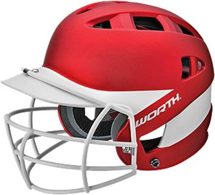 Worth Adult 60Mph Liberty Air Xtreme Fastpitch Batting Helmets (Easton Chin Strap)