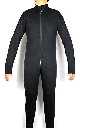 Star Wars Stormtrooper Bodysuit Black Armour Inner Under Jumpsuit Suit Costume (M) (Black Stormtrooper Costume)