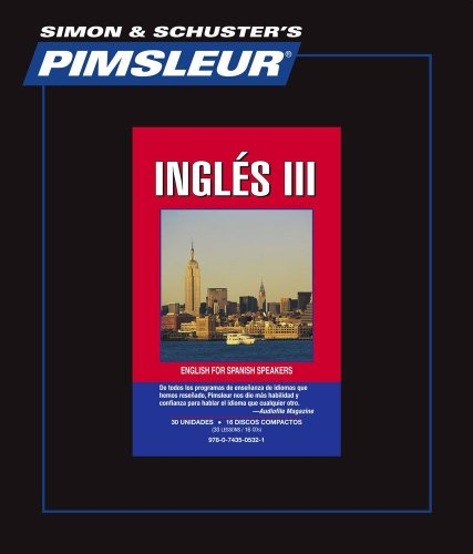 PIMSLEUR English 3 : English III For Spanish Speakers (Spanish Edition)