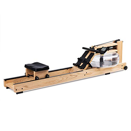 Fitness 1000 Eriding Rowing Machine Wood Water Rower With Monitor