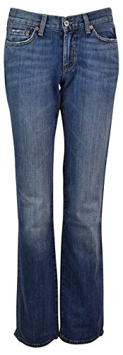 Lucky Brand Women's Classic Rider Bootleg Jeans - 33W x 30L