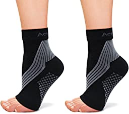 Plantar Fasciitis? Heel Pain? Sore Arches? Try Our PF Compression Foot Sleeves (PAIR) - Relieves Plantar Fasciitis, Heel Pain, Achilles Tendonitis and Swelling