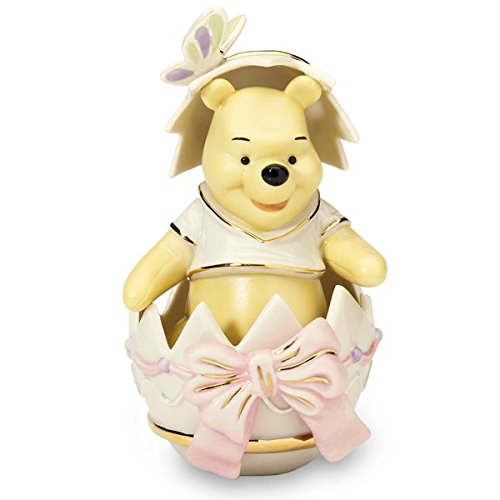 Disney Pooh's Easter Surprise Figurine by Lenox