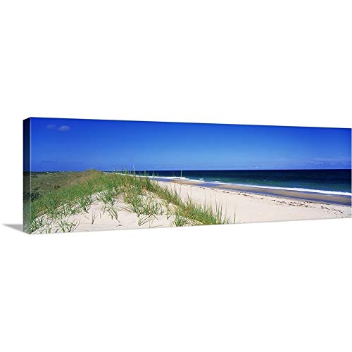 Solid-Faced Canvas Print Wall Art Print Entitled Cape Hatteras National Park Outer Banks NC 36