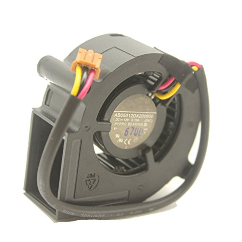 Tebuyus AB05012DX200600 12V 0.15A 3Pin Blower Cooling Fan Projector Fan