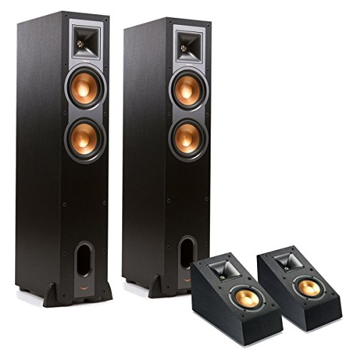 Klipsch R-26F Reference Floorstanding Speakers with R-14SA D