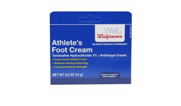 Amazon com: Walgreens Athlete's Foot Antifungal Cream,  53