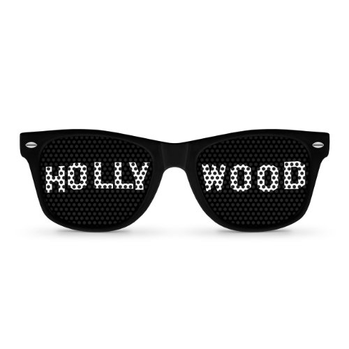 HOLLYWOOD Black Retro Party - Hollywood Sunglasses