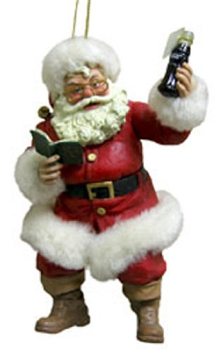 Kurt Adler Santa Claus Coca Cola Christmas Ornament [W6300A]