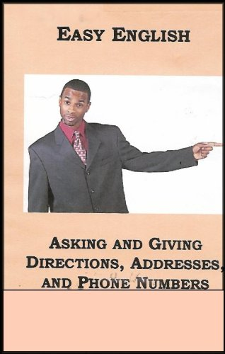 Giving Directions - Easy English: Asking and Giving Directions, Addresses, and Phone Numbers (VHS VIDEO)