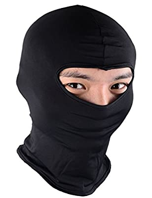 Newdora Balaclava Ski Mask Premium Face Mask Motorcycle Neck Warmer or Tactical Balaclava Hood