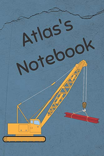 Atlas's Notebook: Construction Equipment Crane Cover for sale  Delivered anywhere in Canada