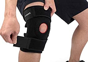 Knee Brace Support, Arespark Breathable Knee Stabilizer & Elastic Compression for Knee Stability & Recovery Aid...