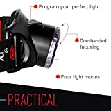 Ledlenser, H7R.2 Rechargeable Headlamp, Black