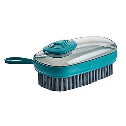 hyndrix Hydraulic Laundry Brush Shoe Cleaning Household Brush Soft and Hard Bristles – 3 in 1 Kitchen Dish, Bowl Cleaning Brush/Scrubber Tool (Multi Color)