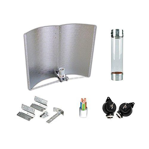 Kit d'éclairage 400 W SHP Agrolite + Ballast ETI Adjust-a-Wings classe 1 + coolTube + réflecteur Adjust-a-Wings ETI Enforcer d79b69