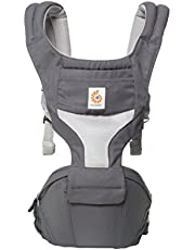 Ergobaby Hipseat Cool Air Mesh Baby Carrier, Carbon Grey