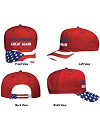 RARE FIND!!! Embroidered Donald Trump Hat Make America Great Again Cap, Best Quality. USA Flag Design. Trump For President. Gag Gift.