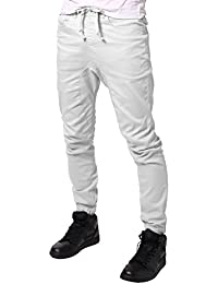 JD Apparel Men's Harem Twill Joggers Pants