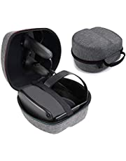 MASiKEN Hard EVA Case for Oculus Quest All-in-one VR Gaming Headset, Oculus Quest Travel Carrying Case (Black+Grey)