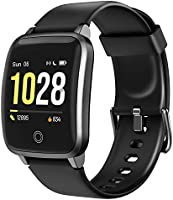 LETSCOM Smart Watch Fitness Trackers with Heart Rate Monitor Step Calorie Counter Sleep Monitor, IP68 Waterproof...