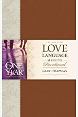 The One Year Love Language Minute Devotional (One Year Signature Line) Imitation Leather