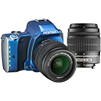 Pentax K-S1 SLR Lens Kit with DA L 18-55 mm and DA L 50-200 mm (Blue)