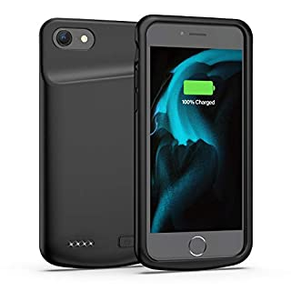 Battery Case for iPhone 6 6s, 4500mAh Portable Protective Charging Case Extended Rechargeable Battery Pack for 4.7 Inch iPhone 6 6s (Black)