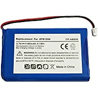 Replacement High Capacity 1100mAh ATB-850 ATB-950 ATB-1200 Battery for RTI T1 T1-B T2 T2+ T2-B T2-C T2-Cs T3 & TheaterTouch Universal Remote Controllers