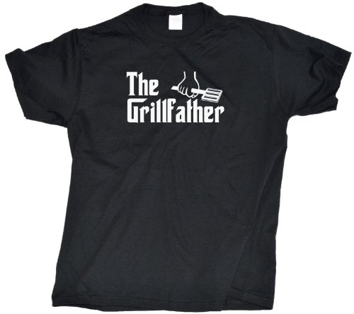Ann Arbor T-shirt Co. Men's THE GRILLFATHER Grill BBQ Meat T-Shirt