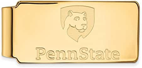 10k Yellow Gold LogoArt Official Licensed Collegiate Penn State University (PSU) Money Clip