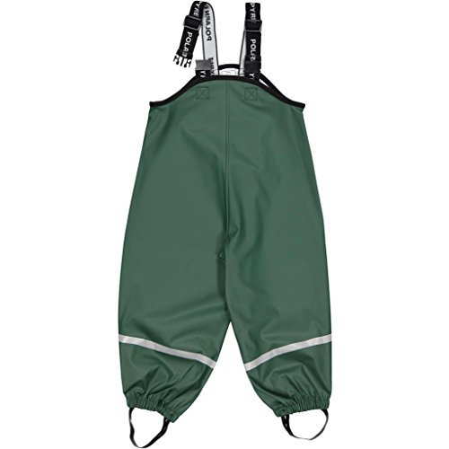 Polarn O. Pyret Waterproof RAIN Pants (6-8YRS) - Garden Topiary/6-8 Years