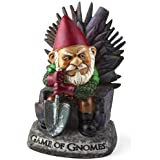Big Mouth Inc. Game of Gnomes Garden Gnome – Comical Garden Gnome, Hand-Painted Weatherproof Ceramic Lawn Gnome, Makes a Grea