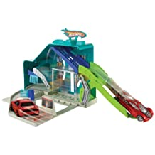 Hot Wheels City Turbo Wash Playset