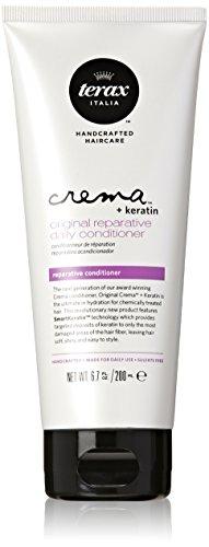 Terax Crema + Keratin Original Reparative Daily Conditioner for Unisex,