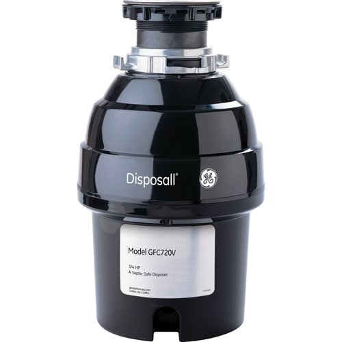 General-Electric-GFC720V-34-Horsepower-Deluxe-Continuous-Feed-Disposall-Super-Capacity-Food-Waste-Disposer-Black